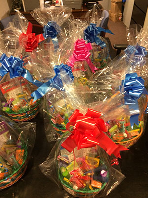 Easter Baskets for the children